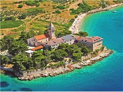 Dominikanski samostan Gornji Humac - otok Brač Znamenitosti