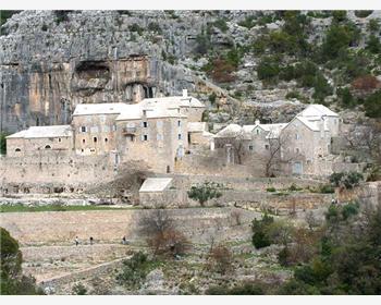 Klooster in de Blaca woestijn