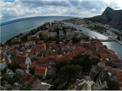Středověké jádro města Omiš  Pamiatky
