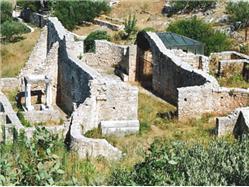 remains of a former roman complex Postira - island Brac Sights