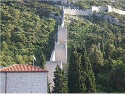 Mury miejskie miasta Ston Slano (Dubrovnik) Zabytki