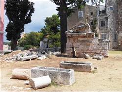 Neptúnov chrám Cervar - Porat (Porec) Pamiatky