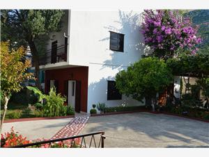 Ferienwohnung und Zimmer Danica Podaca, Größe 50,00 m2, Luftlinie bis zum Meer 180 m, Entfernung vom Ortszentrum (Luftlinie) 50 m
