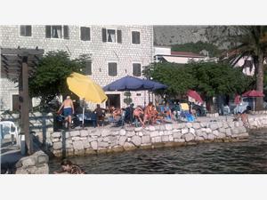 Ferienwohnung und Zimmer Antun Boka Kotorska, Steinhaus, Größe 18,00 m2, Luftlinie bis zum Meer 5 m
