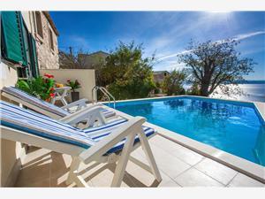 Huis MAJA Tucepi, Kwadratuur 100,00 m2, Accommodatie met zwembad