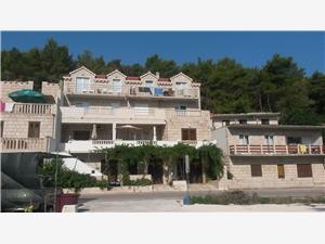 Appartement Ina Povlja - île de Brac, Superficie 70,00 m2, Distance (vol d'oiseau) jusqu'au centre ville 100 m