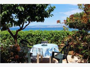 Üdülőházak Közép-Dalmácia szigetei,Foglaljon Njiva From 59306 Ft