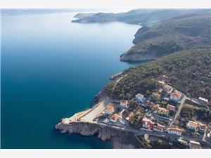 Ferienwohnungen Maestral Vrbnik - Insel Krk, Größe 53,00 m2, Luftlinie bis zum Meer 150 m, Entfernung vom Ortszentrum (Luftlinie) 500 m