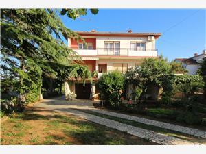Appartementen Jakominić Silo - eiland Krk, Kwadratuur 100,00 m2, Lucht afstand naar het centrum 450 m