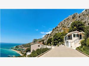 Maison Dunja Omis, Maison de pierres, Superficie 55,00 m2