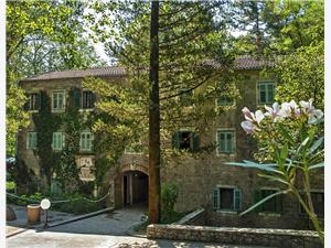 Kamers Radmanove mlinice Kroatië, Kwadratuur 12,00 m2