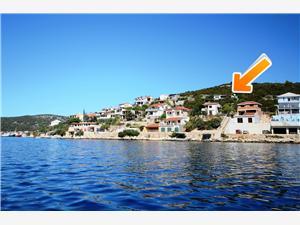 Apartmanok Milka Horvátország, Méret 55,00 m2, Légvonalbeli távolság 70 m, Központtól való távolság 600 m