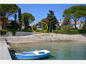 Apartmaj Olga Banjol - otok Rab, Kvadratura 65,00 m2, Oddaljenost od morja 70 m