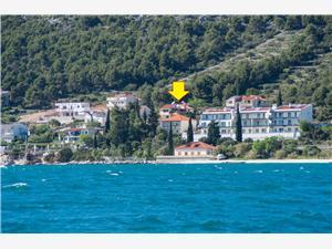 Appartement Marin Seget Vranjica, Kwadratuur 100,00 m2, Lucht afstand tot de zee 50 m