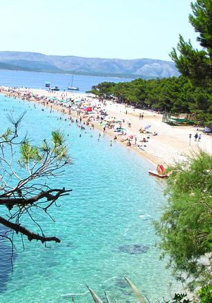 Guide des plages en Croatie