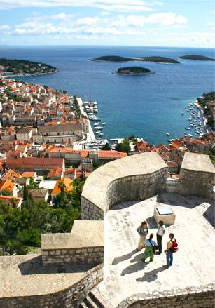 Eilanden in Kroatië