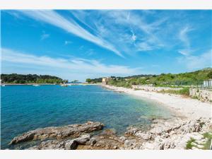 Appartementen Petra Istrie, Kwadratuur 30,00 m2, Lucht afstand tot de zee 50 m