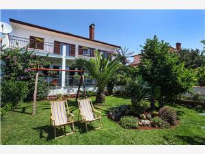 Ferienwohnungen Antonieta Banjole, Größe 30,00 m2, Luftlinie bis zum Meer 100 m, Entfernung vom Ortszentrum (Luftlinie) 100 m