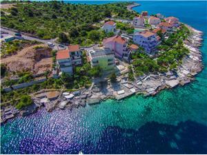 Ferienwohnungen Maja Dalmatien, Größe 55,00 m2, Luftlinie bis zum Meer 10 m