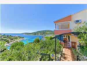 Beachfront accommodation Split and Trogir riviera,Book Otjana From 64 €