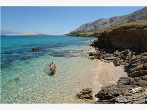 Ferienwohnung Marija Kolan, Größe 30,00 m2, Luftlinie bis zum Meer 50 m