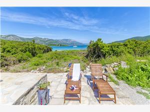 Casa Vinko Isole della Dalmazia Meridionale, Casa isolata, Dimensioni 30,00 m2, Distanza aerea dal mare 50 m