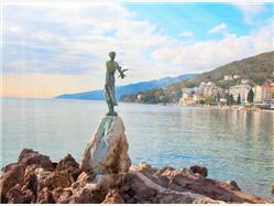 Kvarner tour Beautiful pearls Opatija Rijeka Labin