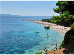 Boat trip to Hvar the bays of Pakleni Islands and Brac from Split