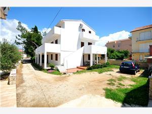 Appartements Renato Novalja - île de Pag, Superficie 80,00 m2, Distance (vol d'oiseau) jusque la mer 200 m, Distance (vol d'oiseau) jusqu'au centre ville 150 m