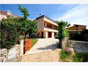 Apartament Dijana Povljana - wyspa Pag, Powierzchnia 65,00 m2, Odległość od centrum miasta, przez powietrze jest mierzona 200 m