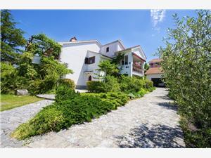 Appartamenti Dubašnica Malinska - isola di Krk, Dimensioni 25,00 m2