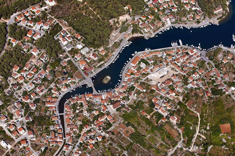 Vrboska - île de Hvar