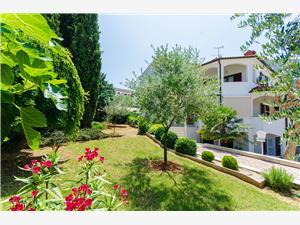 Appartementen Gloria Blauw Istrië, Kwadratuur 60,00 m2, Lucht afstand naar het centrum 500 m