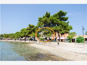 Appartementen Stanislava Blauw Istrië, Kwadratuur 60,00 m2, Lucht afstand tot de zee 50 m