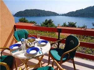Ferienwohnung Ivan Karbuni, Größe 45,00 m2, Luftlinie bis zum Meer 50 m