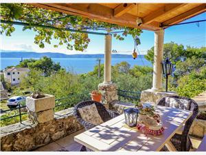 Haus Vedrana Makarska Riviera, Steinhaus, Größe 50,00 m2, Luftlinie bis zum Meer 200 m