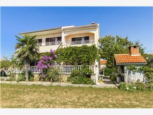 Апартаменты Nikola Privlaka (Zadar), квадратура 25,00 m2, Воздуха удалённость от моря 200 m, Воздух расстояние до центра города 30 m