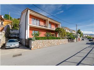 Apartmanok Ivan Rijeka és Crikvenica riviéra, Méret 30,00 m2, Központtól való távolság 300 m