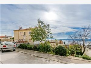Apartmán Kralj Rijeka a Riviéra Crikvenica, Prostor 57,00 m2, Vzdušní vzdálenost od centra místa 250 m