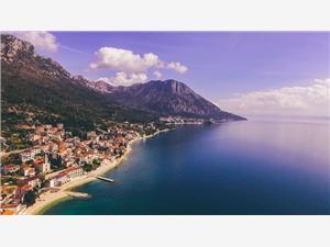 Beachfront accommodation Makarska riviera,Book Teo From 83 €