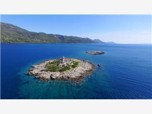 Kuća na osami Južnodalmatinski otoci,Rezerviraj Korkyra Od 4335 kn
