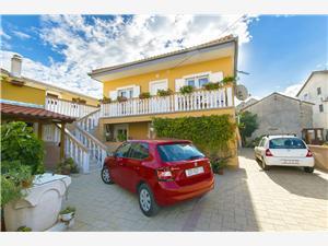 Apartman Branimir Nin, Kvadratura 80,00 m2, Zračna udaljenost od centra mjesta 30 m