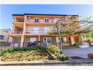 Appartement Nediljka Starigrad Paklenica, Kwadratuur 22,00 m2, Lucht afstand naar het centrum 200 m