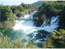 National Park Krka and Sibenik Day Tour from Split Bol - île de Brac
