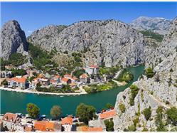 City of Omis and Cetina River Tour from Makarska Imotski
