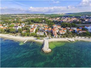 Apartament Mirjam Bibinje, Powierzchnia 60,00 m2, Odległość do morze mierzona drogą powietrzną wynosi 50 m