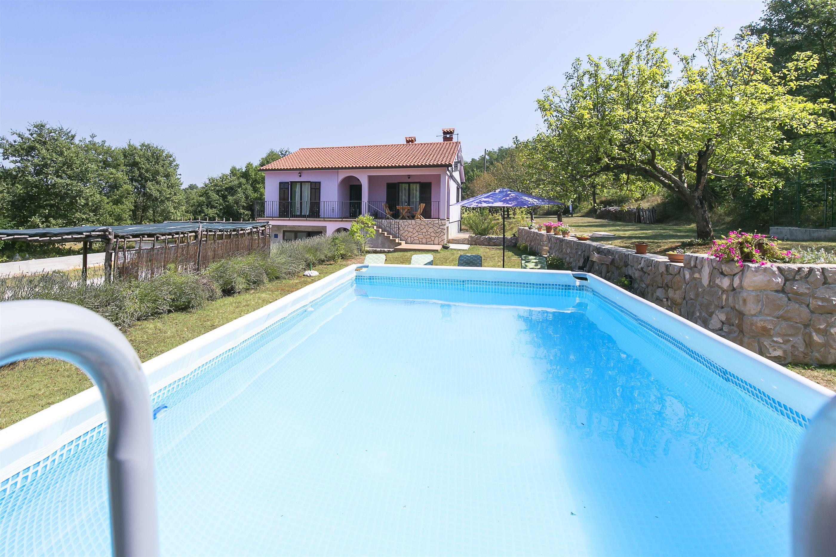 Hébergement avec piscine L'Istrie bleue,Réservez Stone De 108 €