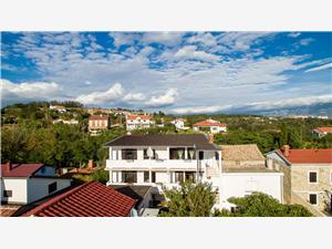 Apartmanok Mladen Lopar - Rab sziget, Méret 27,00 m2, Központtól való távolság 500 m