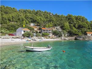 Apartmány Petar Gdinj - ostrov Hvar, Dům na samotě, Prostor 43,00 m2, Vzdušní vzdálenost od moře 10 m