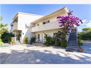 Apartmány Vidas Novalja - ostrov Pag, Rozloha 70,00 m2, Vzdušná vzdialenosť od mora 150 m, Vzdušná vzdialenosť od centra miesta 200 m